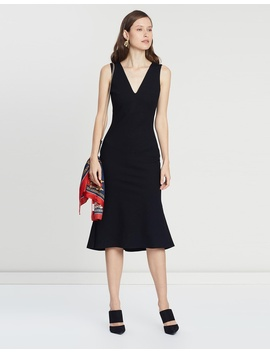 Evelyn Slim Ponte Dress by Saba
