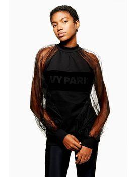 Blouson Sheer Sweatshirt By Ivy Park by Topshop