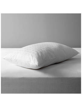 John Lewis & Partners Specialist Synthetic Active Anti Allergy Standard Pillow, Firm by John Lewis & Partners