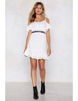 Let's Call The Hole Thing Off Crochet Dress by Nasty Gal