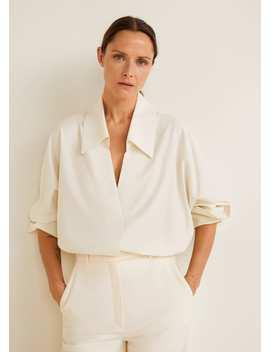 Camisa Oversize Soft by Mango