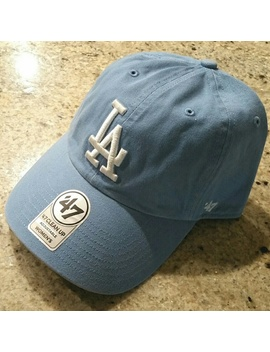 🆕 '47 La Dodgers Clean Up Slouch Dad Hat Cap   Nwt by '47