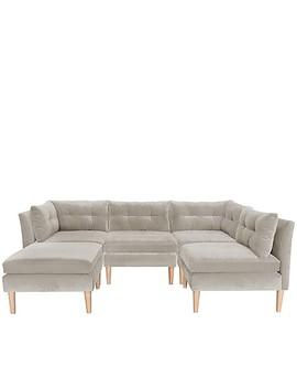 Varick Microsuede Upholstered Furniture Collection by Bed Bath And Beyond