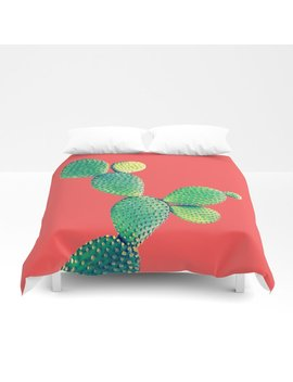 Cactus Duvet Cover by