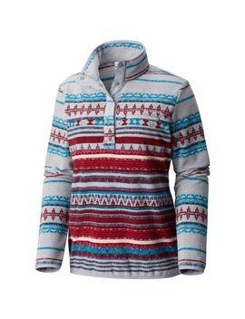 Women's Mountain Side™ Printed Fleece Pull Over by Columbia Sportswear