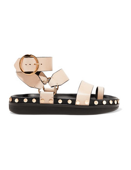 Nirvy Studded Leather Sandals by Isabel Marant