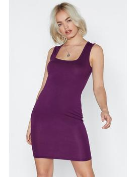 Be There Or Be Square Midi Dress by Nasty Gal