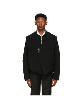 Black Asymmetric Barbara Jacket by Namacheko