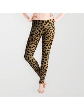 Leopard Skin Leggings by