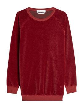 Velvet Sweatshirt by Chloé