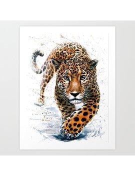 Jaguar Art Print by