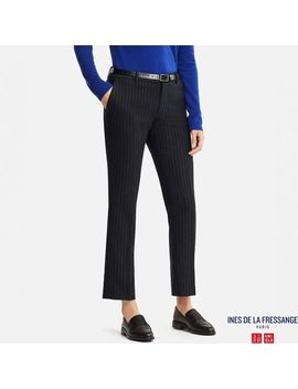 Women Idlf Soft Tweed Pants by Uniqlo