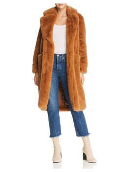 Laures Faux Fur Coat by Apparis