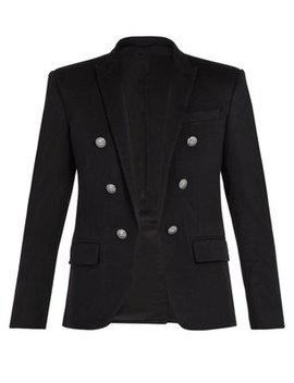 Double Breasted Cashmere Blazer by Balmain
