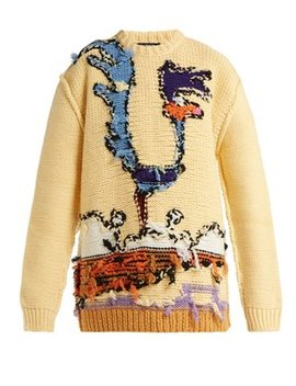 Looney Tunes Wool Sweater by Calvin Klein 205 W39 Nyc