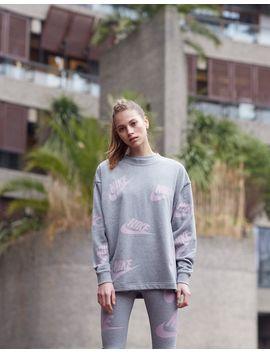 Nike Futura All Over Print Crew Sweatshirt by Jd Sports