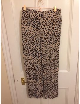 And Other Stories Leopard Print Trousers 36 Uk 10 Leo Print by Ebay Seller