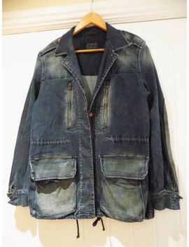 Zara Women's Stylish Denim Coat Size 14 L     Sm by Ebay Seller