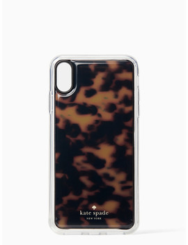 Tortoise Shell Hands Free Iphone Xs Max Case by Kate Spade