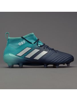 Adidas Ace 17.1 Fg   Energy Aqua/White/Legend Ink by Pro Direct Soccer