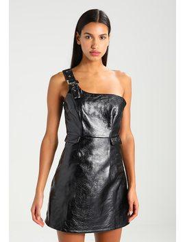 vinyl-buckle-dress---vestito-estivo by lost-ink