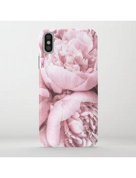Lush Peony Flower I Phone Case by
