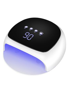 Youlanda 48 W Uv Led Nail Lamp Quick Nail Dryer With Touch Key Automatic Sensor And 4 Timer Settings Large Space Gel Nail Light Curing All Gel Polish by Youlanda