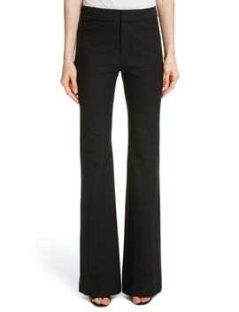 Flare Leg Stretch Cotton Pants by Derek Lam 10 Crosby