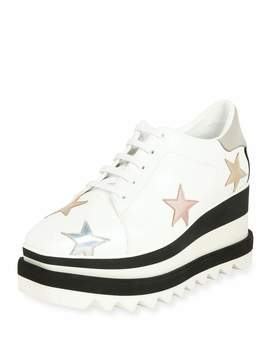 Elyse Stars Platform Sneaker by Stella Mc Cartney