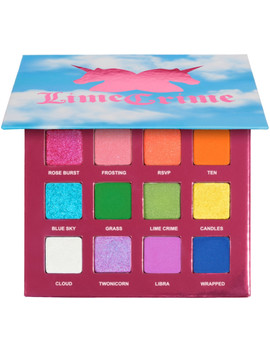 Online Only 10th Birthday Palette by Lime Crime