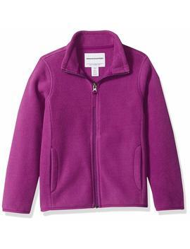 Amazon Essentials Girls' Full Zip Polar Fleece Jacket by Amazon+Essentials
