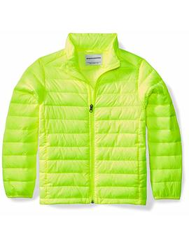Amazon Essentials Boys' Lightweight Water Resistant Packable Puffer Jacket by Amazon+Essentials