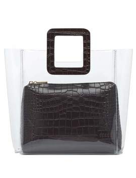 Shirley Embossed Tote by Staud