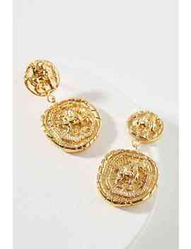 Franco Coin Drop Earrings by Amber Sceats