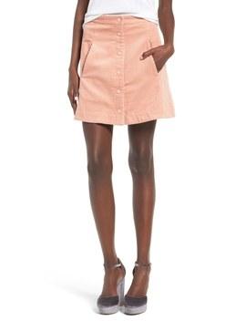 Irene Corduroy Miniskirt by Rachel Antonoff