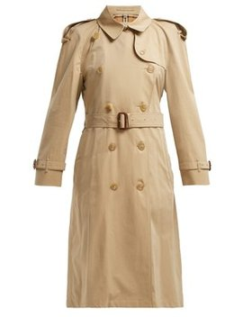 Westminster Gabardine Trench Coat by Burberry