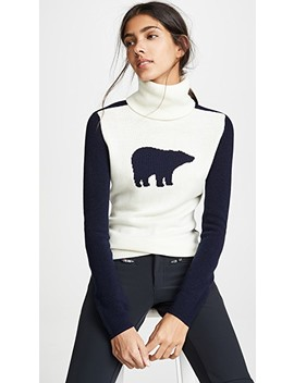 Bear Wool Turtleneck Sweater by Perfect Moment