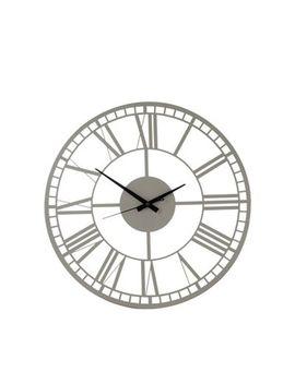 Debenhams   Grey Wall Clock by Debenhams