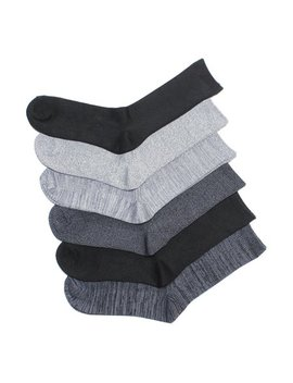 Cuddl Duds Women's 6 Pk Leg Layering Supersoft Crew Socks Size 4 10 by Cuddl Duds