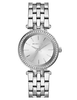'petite Darci' Crystal Bezel Bracelet Watch, 26mm by Michael Kors