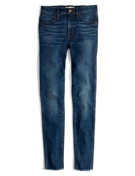 9 Inch Skinny Jeans Raw Hem Edition by Madewell