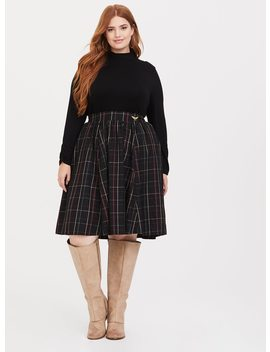 Fantastic Beasts The Crimes Of Grindelwald Queenie Midi Swing Skirt by Torrid