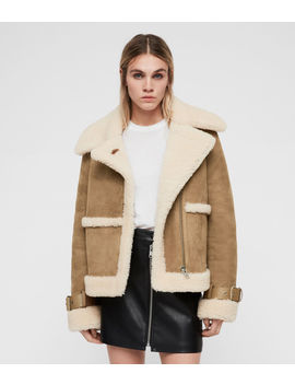 Farley Shearling Jacket by Allsaints
