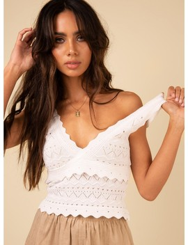 Eliana Top White by Princess Polly