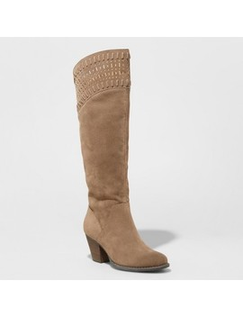 Women's Nellie Cut Out Riding Boots   Universal Thread™ by Universal Thread™