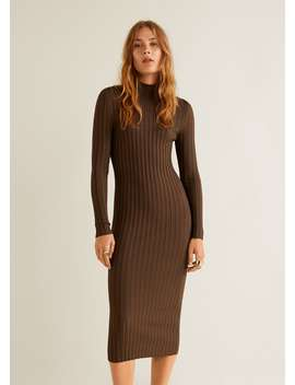 """<Font Style=""""Vertical Align: Inherit;""""><Font Style=""""Vertical Align: Inherit;"""">Dress With Turtleneck</Font></Font> by Mango"""