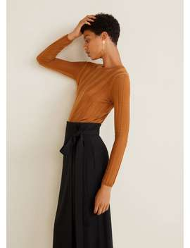 """<Font Style=""""Vertical Align: Inherit;""""><Font Style=""""Vertical Align: Inherit;"""">Wrap Look Skirt With Bow</Font></Font> by Mango"""