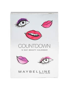 Maybelline Countdown Advent Calendar Christmas Gift (Worth £75.38) by Maybelline