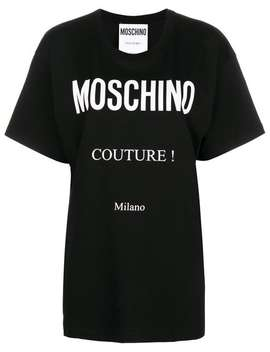 Moschinoprinted Logo T Shirthome Women Moschino Clothing T Shirts & Jersey Shirts by Moschino