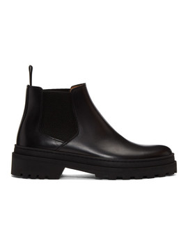 Black Marcus Chelsea Boots by A.P.C.
